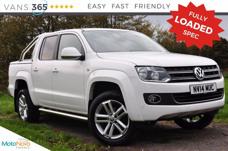 used VW Amarok FULLY LOADED 180BHP TDI HIGHLINE 4MOTION 4 WHEEL DRIVE in bristol