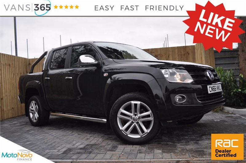 used VW Amarok DC 180BHP DSG AUTO CHROME PACK HEATED SCREEN LEATHER TDI HIGHLINE 4MOTION in bristol