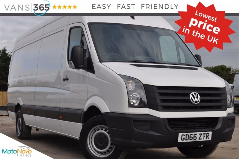 used VW Crafter ONLY 16K MILES 138BHP CR35 TDI LWB LIKE NEW CRUISE CONTROL in bristol