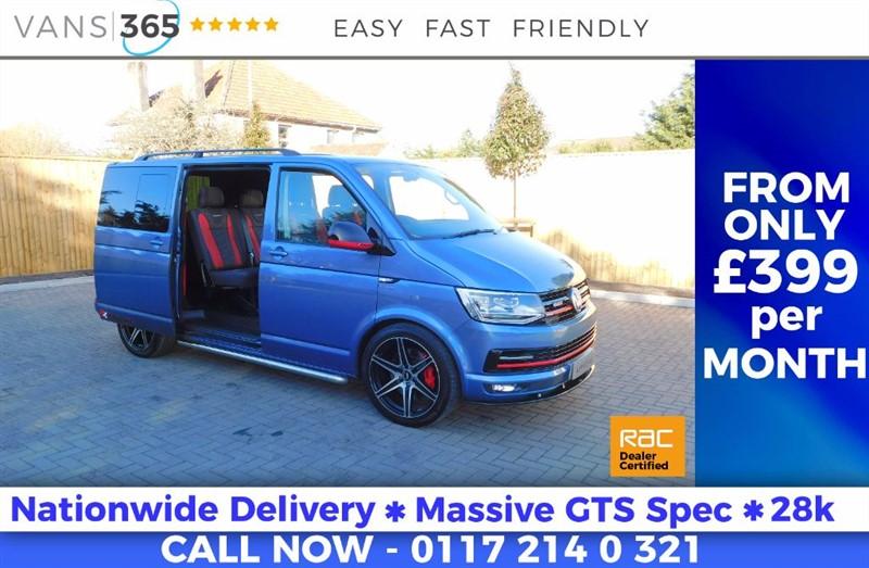 used VW Transporter 180 BHP GTS HUGE SPEC DSG AUTO SAT NAV T32 TDI KOMBI BMT in bristol