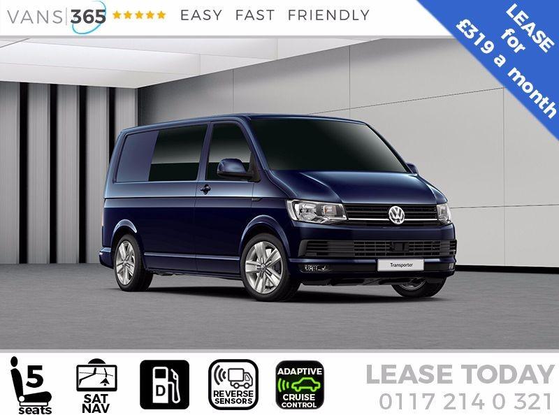 used VW Transporter *LEASE* T30 HIGHLINE 150PS DSG SAT NAV KOMBI VAN £319+VAT PM in bristol