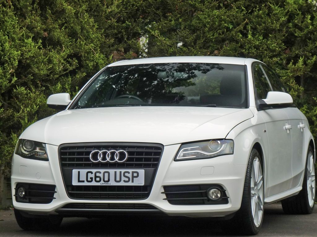 Used Polar White Audi A4for Sale Dorset A4 Black Rims No Photos Available