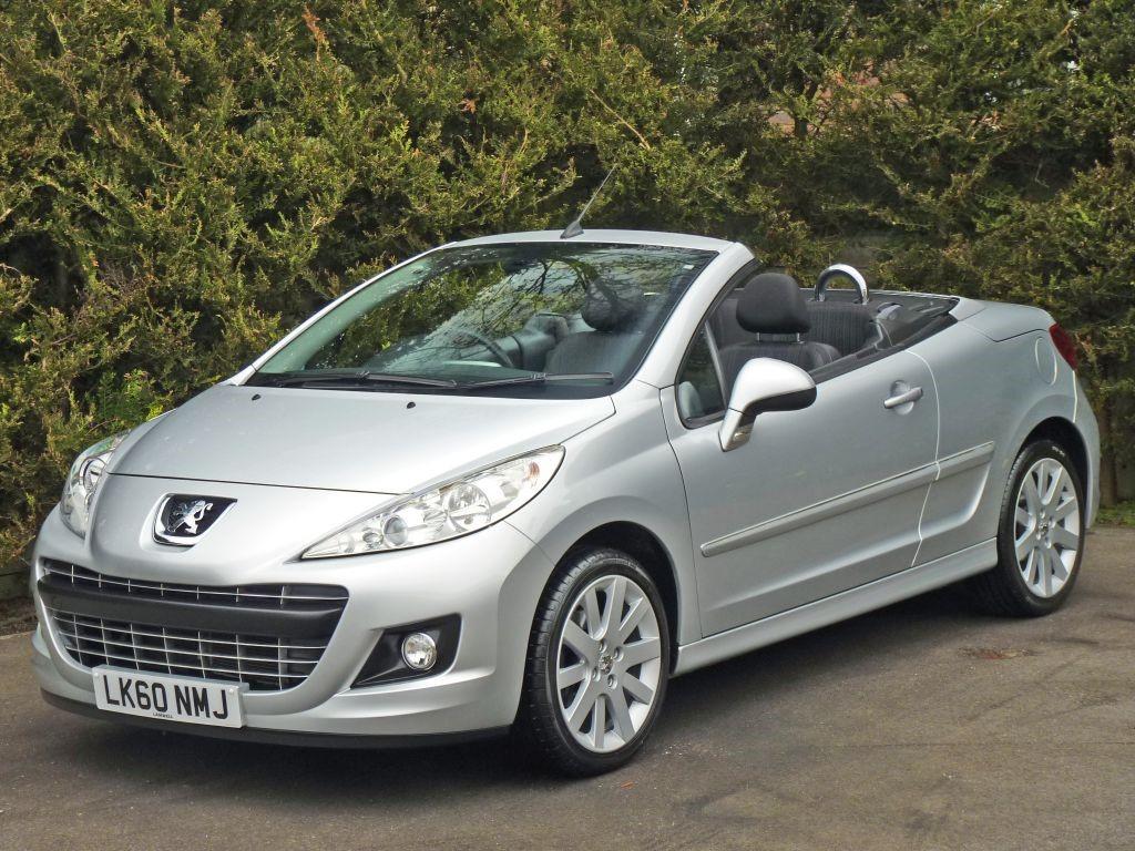 used satin silver metallic peugeot 207 ccfor sale dorset rh lamwell com Peugeot 307 CC Peugeot 208 CC