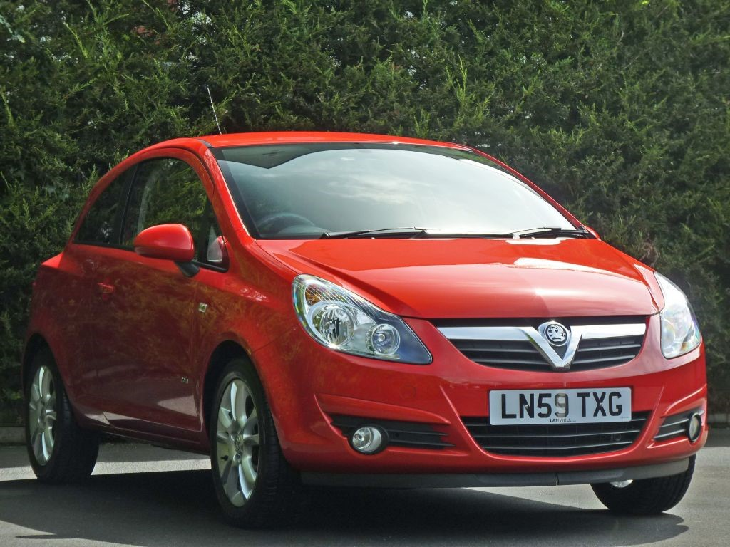 Used Flame Red Vauxhall Corsafor Sale