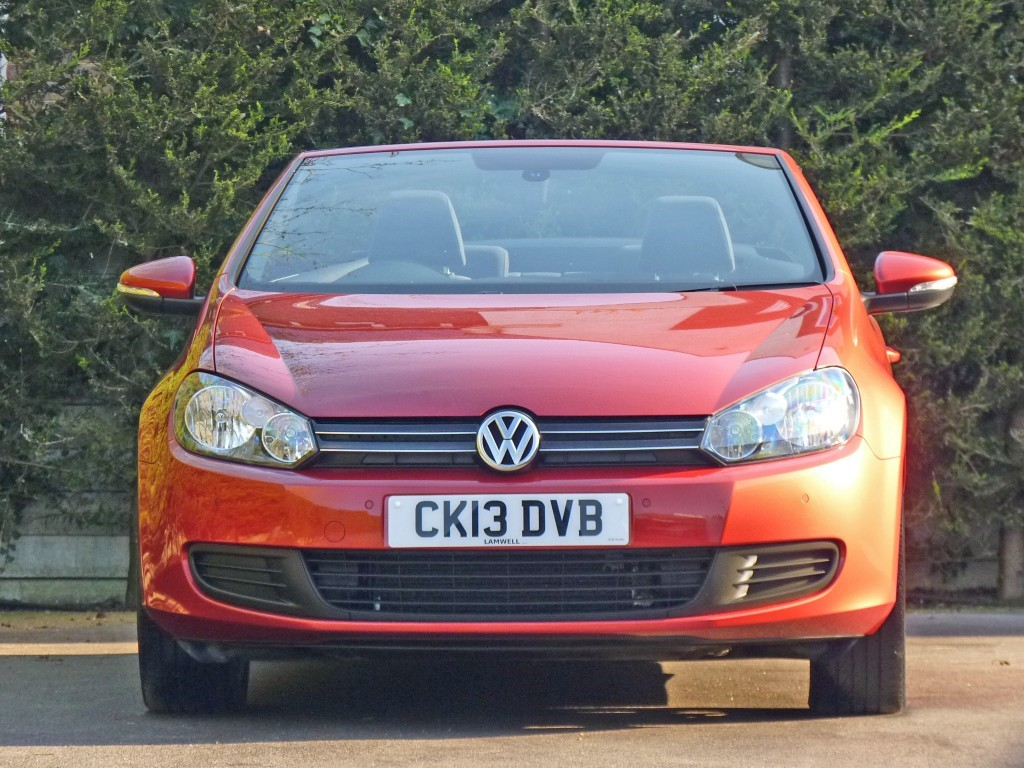 Used Sunset Red Metallic Vw Golffor Sale Dorset