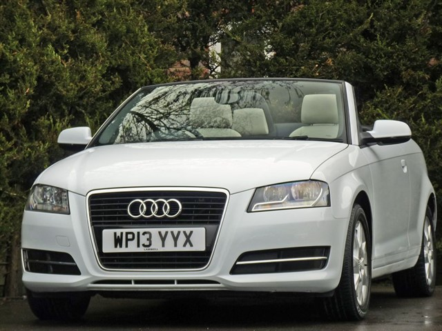 used Audi A3 2.0 TDI AUTOMATIC CONVERTIBLE in dorset