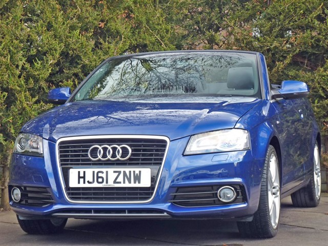 used Audi A3 Cab 1.8 TFSI S LINE in dorset