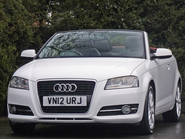 used Audi A3 1.8 TFSI SPORT CONVERTIBLE in dorset