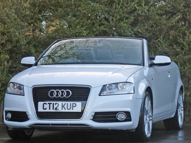 used Audi A3 1.8 TFSI S LINE CONVERTIBLE in dorset