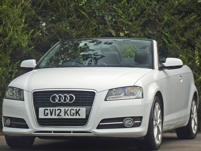 used Audi A3 TFSI SPORT CONVERTIBLE in dorset
