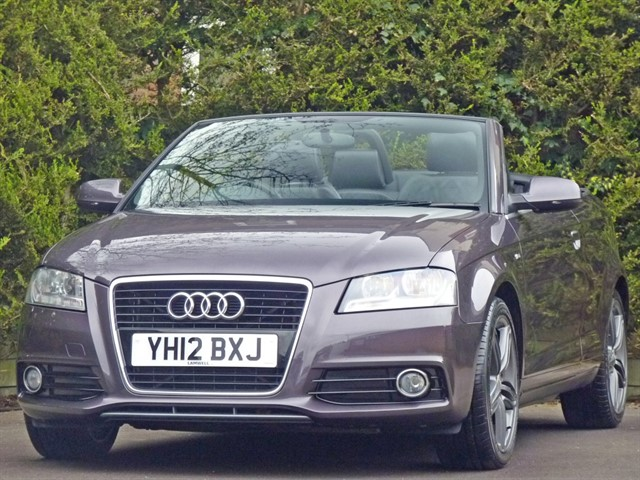used Audi A3 TFSI S LINE CONVERTIBLE in dorset