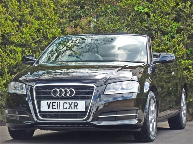 used Audi A3 TFSI CONVERTIBLE in dorset