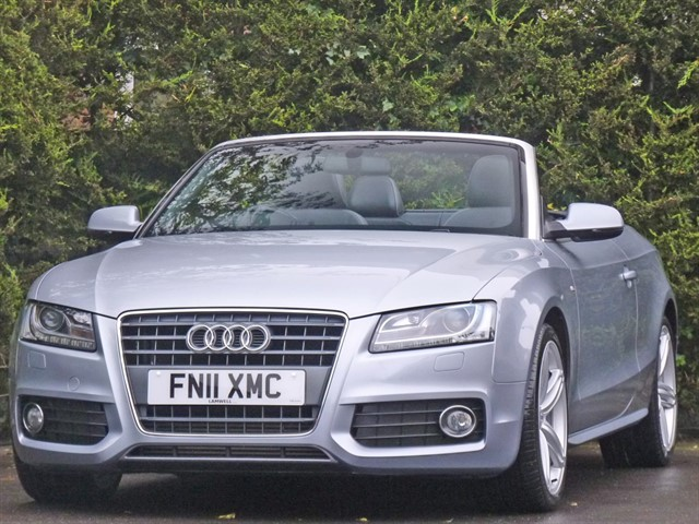 used Audi A5 S LINE CONVERTIBLE in dorset