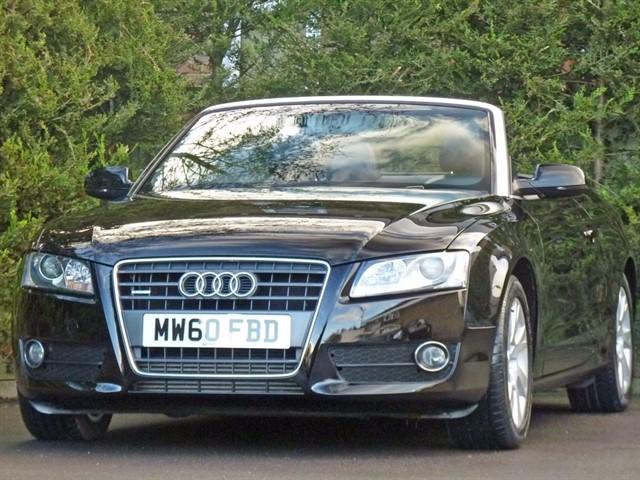 used Audi A5 2.0 TFSI SE QUATTRO AUTOMATIC CONVERTIBLE in dorset