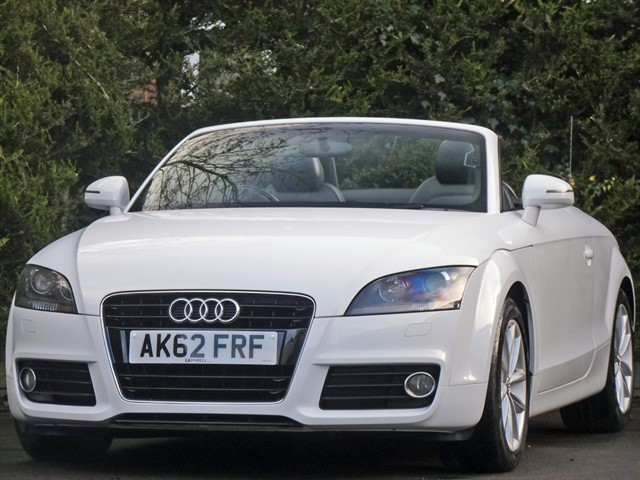 used Audi TT 1.8 TFSI SPORT ROADSTER in dorset