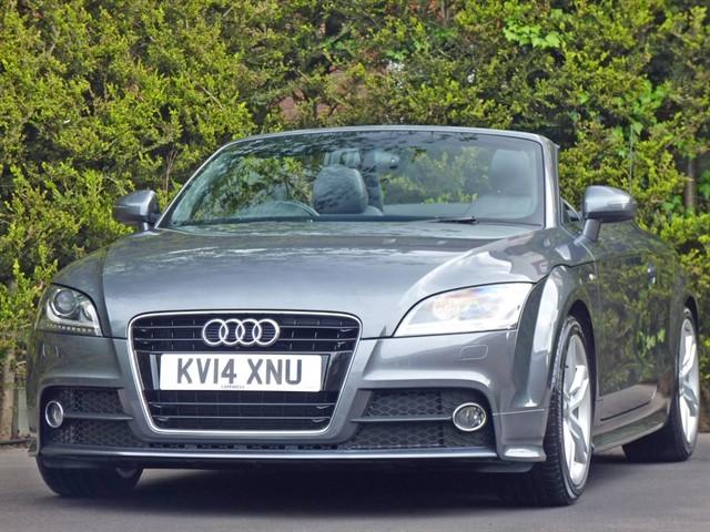 used Audi TT 1.8 TFSI S LINE CONVERTIBLE in dorset