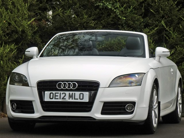 used Audi TT 1.8 TFSI SPORT CONVERTIBLE in dorset