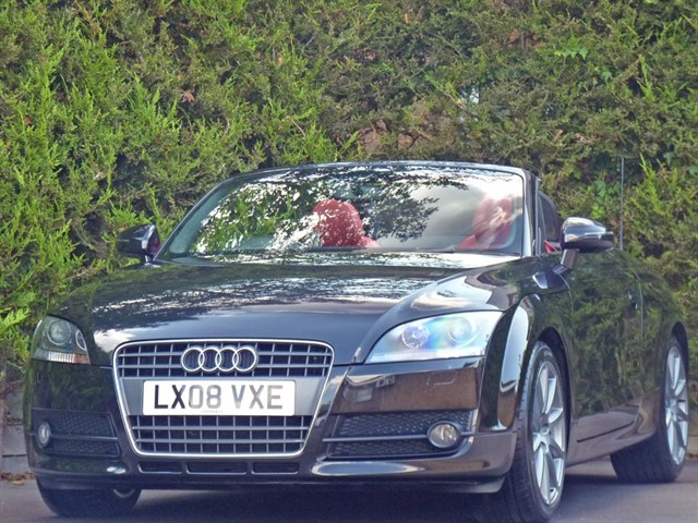 used Audi TT 2.0 TFSI SPORTS ROADSTER in dorset