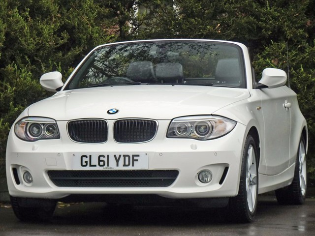 used BMW 118d 2.0 SPORT CONVERTIBLE in dorset