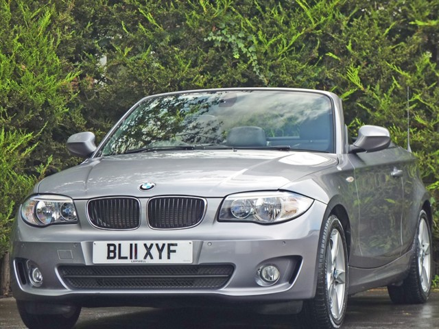 used BMW 118d SPORT CONVERTIBLE in dorset