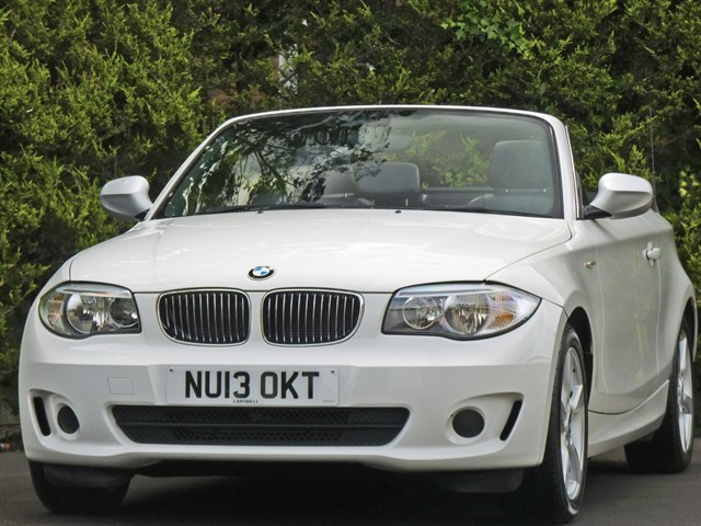 used BMW 118d EXCLUSIVE EDITION AUTOMATIC CONVERTIBLE in dorset