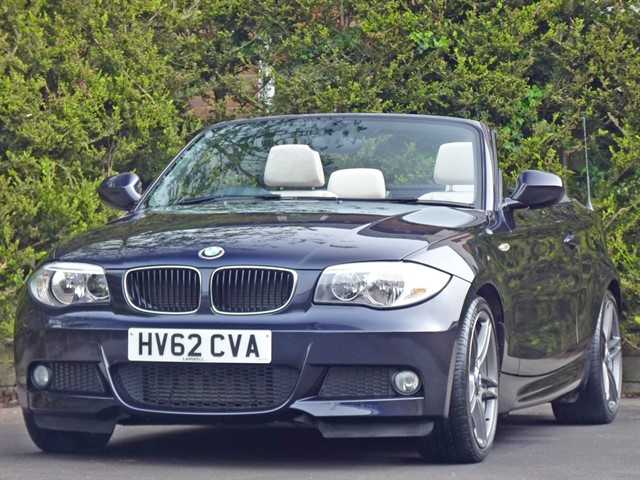 used BMW 118d SPORT PLUS EDITION CONVERTIBLE in dorset