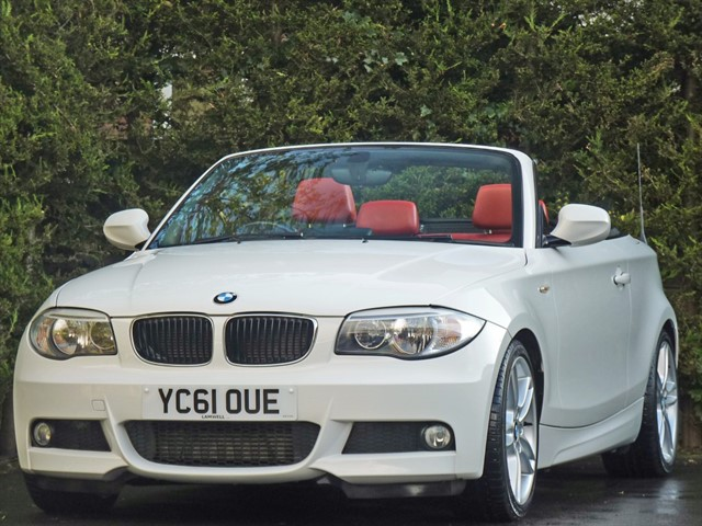 used BMW 120d M SPORT AUTO CONVERTIBLE in dorset