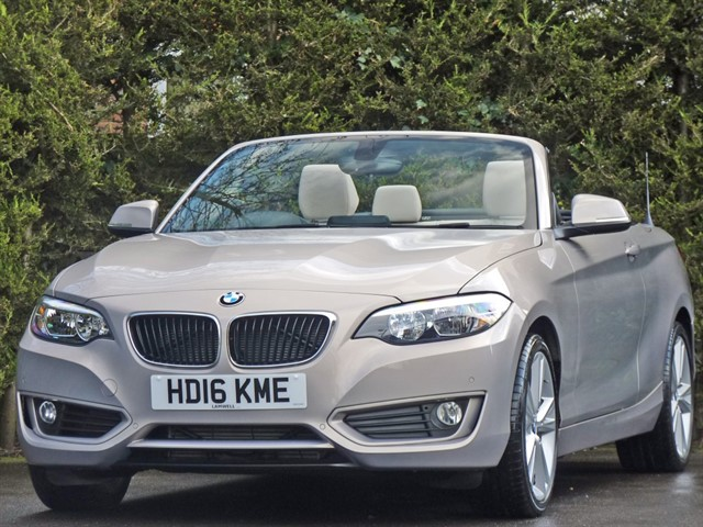 used BMW 218i SE AUTOMATIC CONVERTIBLE in dorset