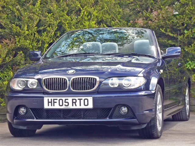 used BMW 320 CI 2.2 SE AUTOMATIC CONVERTIBLE in dorset