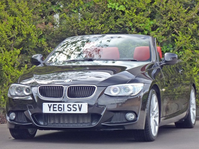 used BMW 320d 2.0 M SPORT CONVERTIBLE in dorset