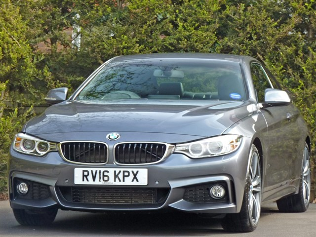 used BMW 430d M SPORT AUTOMATIC COUPE in dorset