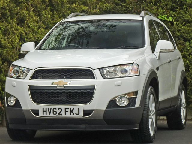 used Chevrolet Captiva 2.2 CDi LTZ 7 SEAT AUTOMATIC in dorset