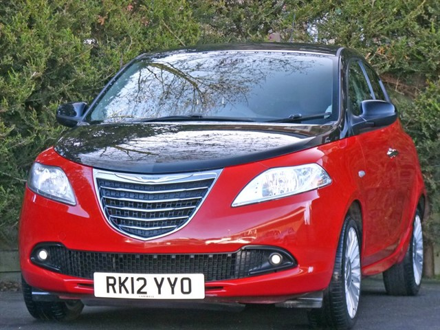 used Chrysler Ypsilon BLACK AND RED in dorset