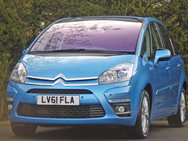 used Citroen C4 PICASSO EXCLUSIVE AUTOMATIC in dorset