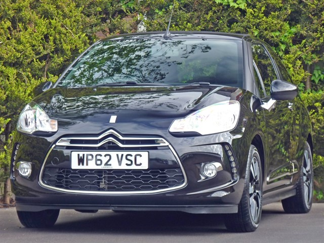 used Citroen DS3 DSTYLE CONVERTIBLE in dorset