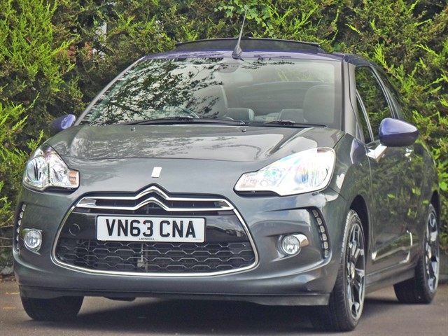 used Citroen DS3 DSTYLE PLUS CONVERTIBLE in dorset
