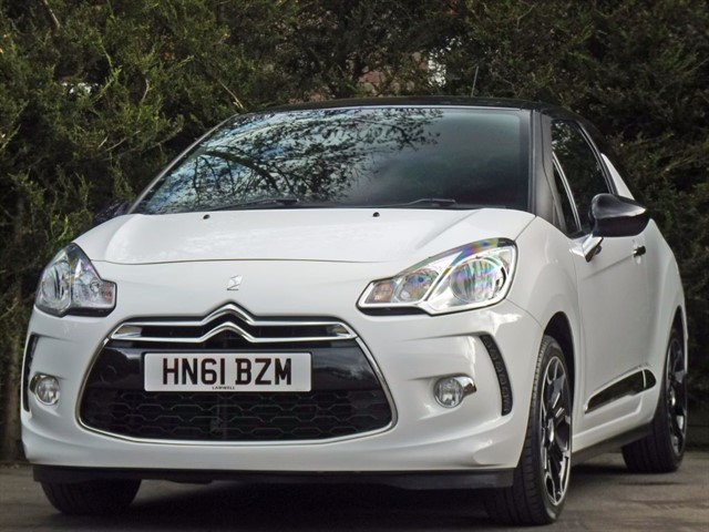 used Citroen DS3 1.6 DSTYLE + in dorset