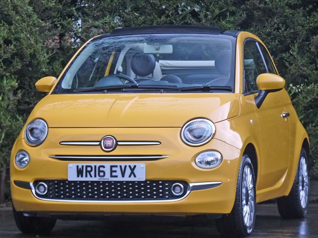 used Fiat 500 C LOUNGE in dorset