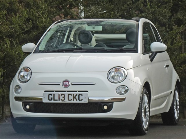 used Fiat 500 1.2 LOUNGE CONVERTIBLE in dorset