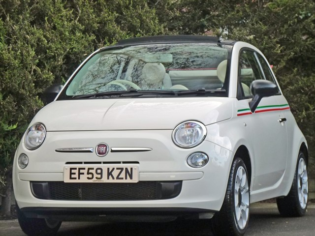 used Fiat 500 C POP in dorset
