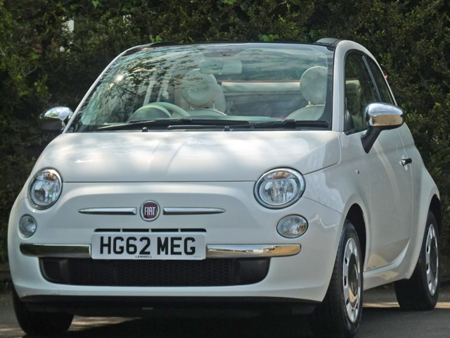 used Fiat 500 1.2 POP CONVERTIBLE in dorset