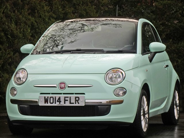 used Fiat 500 1.2 LOUNGE in dorset
