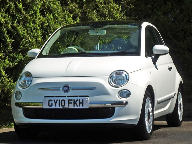 used Fiat 500 LOUNGE in dorset