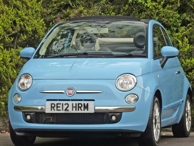used Fiat 500C LOUNGE CONVERTIBLE in dorset
