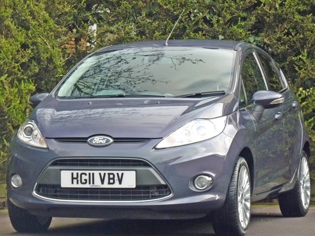 used Ford Fiesta 1.4 TITANIUM AUTOMATIC in dorset