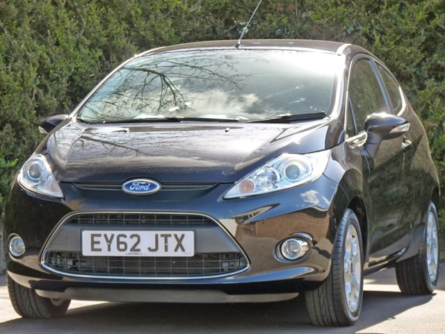used Ford Fiesta ZETEC in dorset