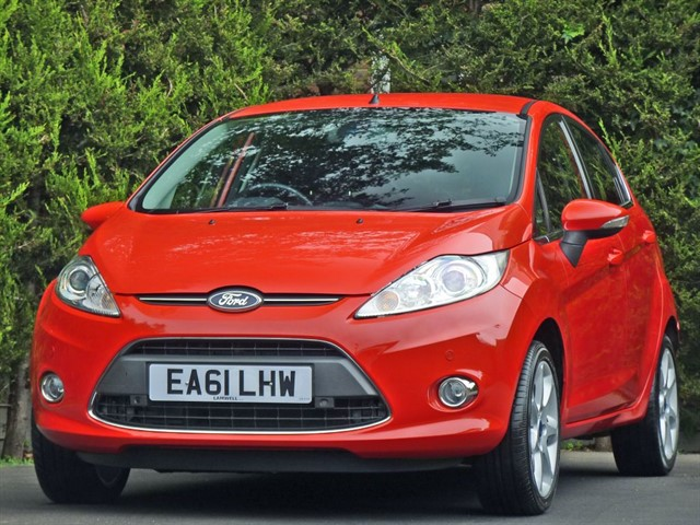 used Ford Fiesta 1.4 TDCi TITANIUM in dorset