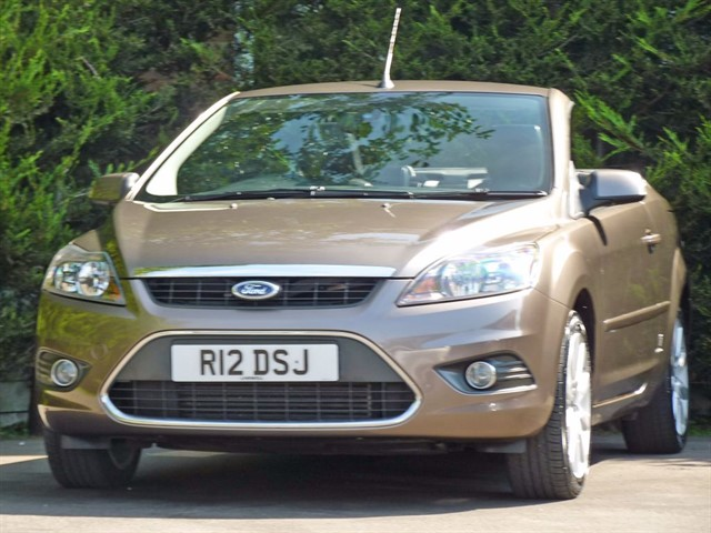 used Ford Focus CC 3 COUPE CONVERTIBLE in dorset
