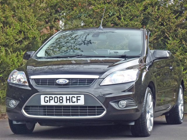 used Ford Focus CC3 in dorset
