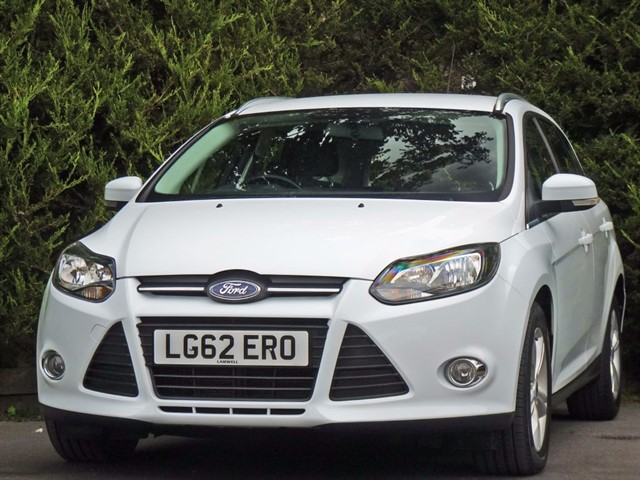 used Ford Focus 1.6 TDCi ZETEC ESTATE in dorset